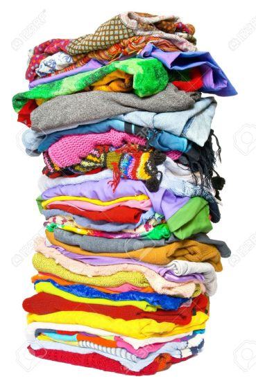 12420700-stack-of-clothes-Stock-Photo